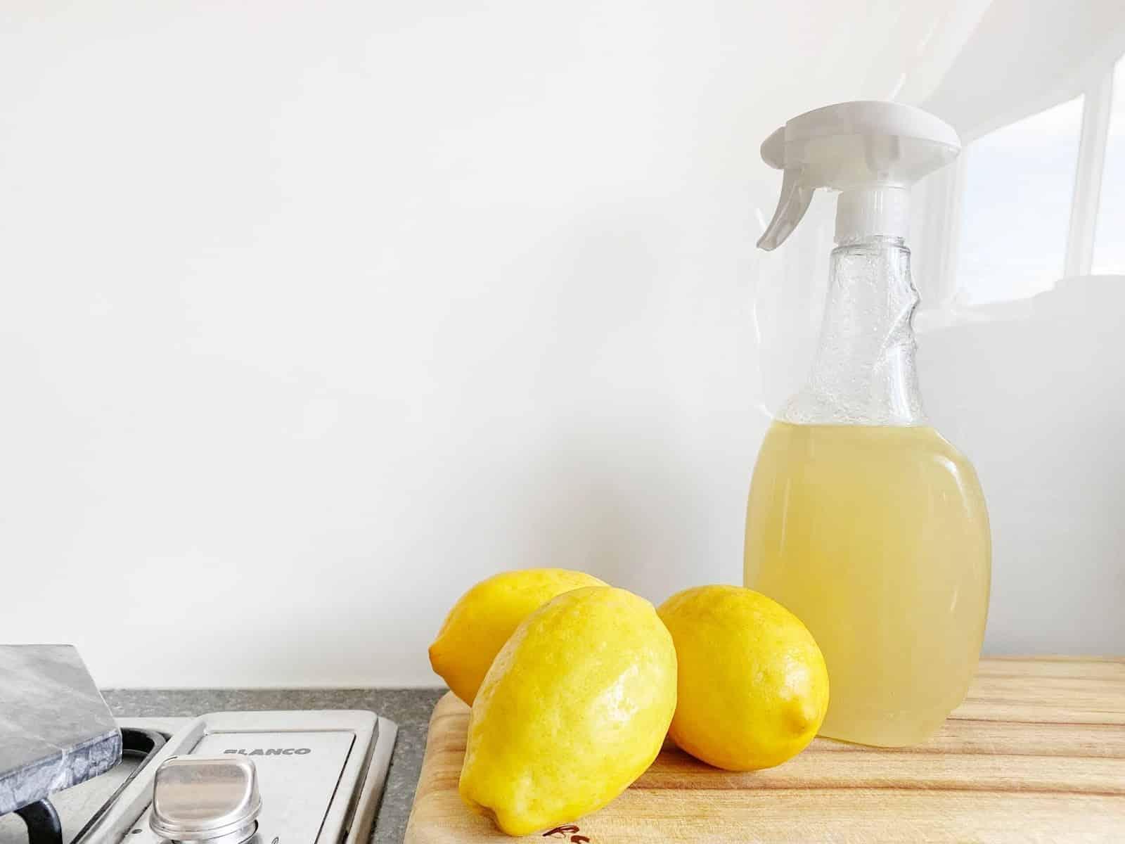 3 recettes maison de produits ménagers