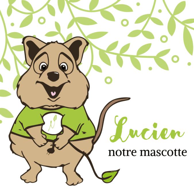 Lucien la mascotte